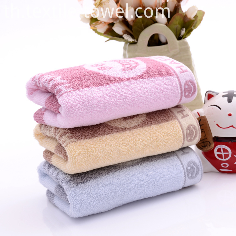 Light Towels Promotion Plain Color Dobby Satin.