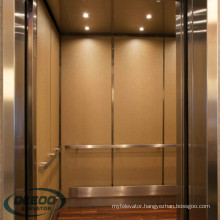 Hotel Small Lift Residential Building 6person Passenger 450kg Elevator
