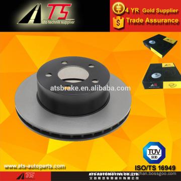 Rotor de freno de disco para sistema de freno de disco de freno JEEP ventilado fabricante