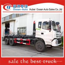 Dongfeng kinland gancho levantar camión de basura