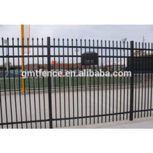 GM high quality powder coated 2016 hot sale zinc steel garden fencing decorative from Anping Manufacture