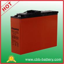110ah 12V Front Terminal AGM Battery for Broadband Npf110-12