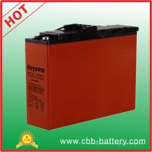 Bateria AGM 110A 12V Terminal frontal para banda larga Npf110-12