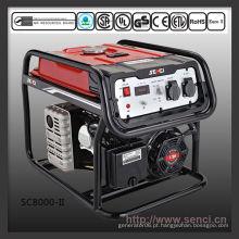 Gerador de gasolina portátil 7000 W SC8000-II 50Hz