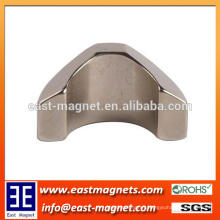 custom special shape NdFeB Magnet for Industrial/arc special shape neodymium magnet for sale