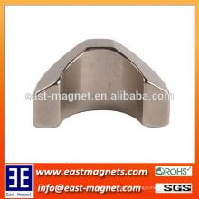custom special shape NdFeB Magnet for Industrial/arc special shape neodymium magnet for sale
