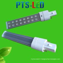 Durcissement rapide conduit G23 9W LED lampe témoin lumineux UV de remplacement pour ongles