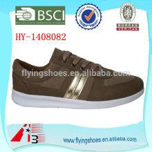 Los zapatos de lona del último muchacho al por mayor / fábrica de los zapatos de China