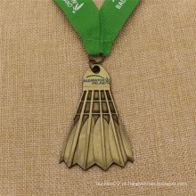 Dança de Metal Personalizada / Corrida / Karate / Wimming / Taekondo / Corrida / Futebol / Scocer / Basquete / Wrestling / Medalha de Badminton