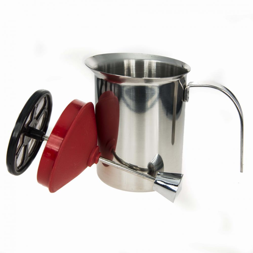Stainless Steel Capuccino Milk Frother Mug