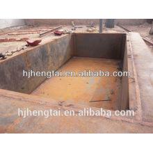 Pote de zinc y caldera de zinc fábrica