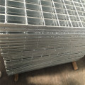 Tekanan Galvanized Locked Steel Grating