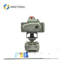 JKTLEB035 válvula de bola motorizada accionada por gas natural dn15