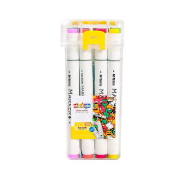 Andstal 6/12/24/36/48/60colors Art Markers Kit Sketch Drawing Watercolor Marker Double Tip Marker Pen