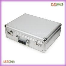 Prata cor hard shell ferramenta de pasta (satc010)
