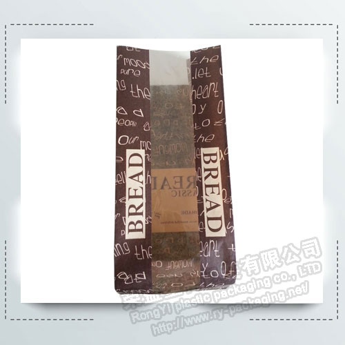 Bakery Packing Bags with Clear Window