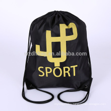Waterproof Wholesale Polyester Drawstring Backpack Luggage Bag Shopping Tote Bag