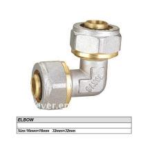 accesorios de compresión de latón para tubo pex