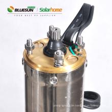 Solarmotor 1hp Wasser Tauchpumpe 20m Kopf Solarwasserpumpe