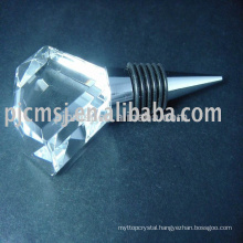 crystal bottle stopper for corporate gift