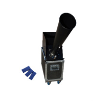 Efecto de etapa Dc-16 Mini Co2 Máquina de confeti Professinal Efecto de etapa Pequeño confeti Blaster Cannon Machine