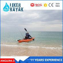 Großhandel Ce Zertifizierung Fischerboot Kajak LLDPE / HDPE Kein aufblasbares Boot