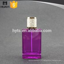 100ml Purple parfum bouteille professionnelle violet