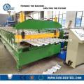 Fabrication de panneaux de toit en acier métallique Machine de formage de rouleaux Machine de forgeage de toit trapézoïdal