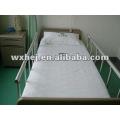 Folha de cama de hospital conjunto de algodão nuvem por medline equipado flat & pillow 3 pcs conjunto de cama de hospital