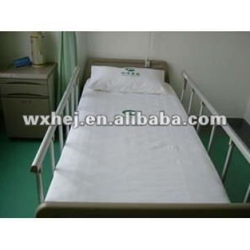 Bettwäscheset Baumwollwolke des Krankenhauses durch Medline gepaßte Wohnung u. Kissen 3pcs Krankenhausbettwäschegarnitur