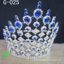 Los accesorios nupciales del pelo del tiaras de la corona de los cabritos de la tiara del baile de fin de curso nupciales del pelo venden al por mayor los relojes suizos