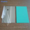 3mm one mirrored side flat eco-friendly acrylic mirror plastic sheet