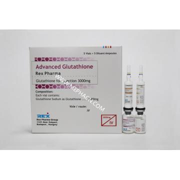 Injeção de glutationa autêntica para branqueamento da pele