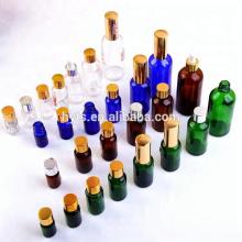 frasco conta-gotas azul / âmbar / transparente do óleo essencial 10ml / 30ml