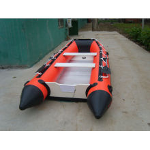 PVC inflatable fishing boat with ce certification