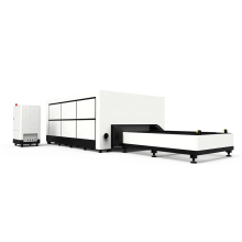 Cover 2000w 18mm Steel Fiber Laser Cutting Machine