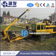 15 Jahre Erfahrung in China Hfdp-15 Trenchless Drilling Rig