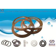 ISO9001 benutzerdefinierte Messing-Unterlegscheibe Hersteller