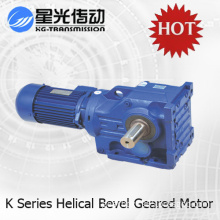 Helical Bevel Gear Speed Reduction Box with Motor