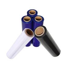 Pack Cast Polyethylene LLDPE Shrink Film Colorful Transparent Film Blue Pallet Stretch Film