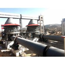 Planta de horno rotatorio 2.5x40 para cal de clínker de cemento