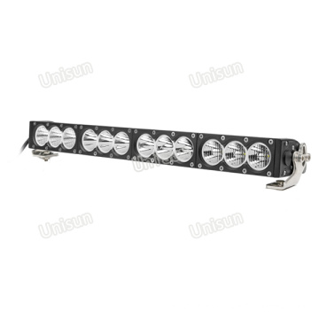 33 pulgadas 12V 180W CREE LED Barra de luz de una sola fila
