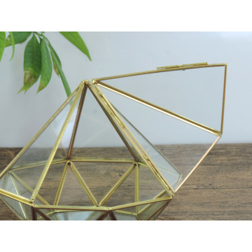 Special Home Garden Decoration Geometric Terrarium Glass