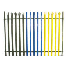 Grass Protection Palisade Steel Fence