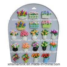 Skulptur-Blumen-Kühler-Magnet-Geschenke