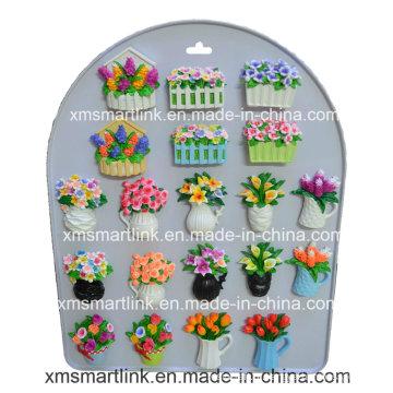 Escultura Flor Refridgerator Ímã Presentes