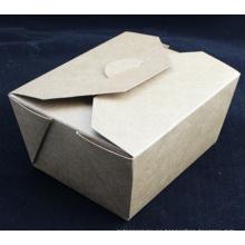 Cajas desechables para caja de empaque de alimentos / comida rápida
