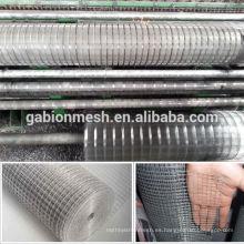 Malla de alambre soldada galvanizada / malla de alambre soldada recubierta de PVC (precio de fábrica)
