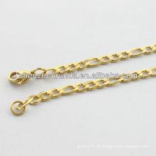 Alibaba supplier2014 Mode Edelstahl Halskette mit gemeinsamen Runde für Männer