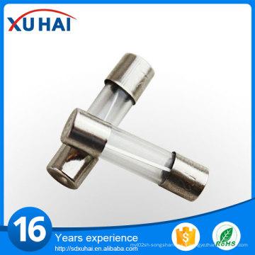 Fusibles en tube de verre de 5 * 20 mm de haute qualité